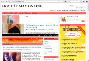 Học cắt may online Hướng dẫn học cắt may, nấu ăn, nuôi dạy trẻ