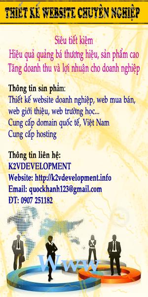 THIẾT KẾ WEB CHUYÊN NGHIỆP Thiết kế web đẹp chuyên nghiệp. Cách quảng cáo hữu hiệu và ít tốn kém nhất!!